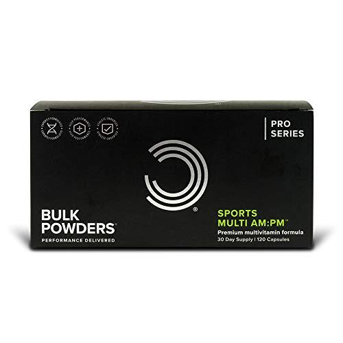 BULK POWDERS Sports Multi AM:PM Capsules, Multivitamins and Minerals, Pack of 120