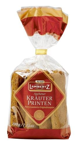 Lambertz Kräuter Printen, 6er Pack (6 x 200 g)