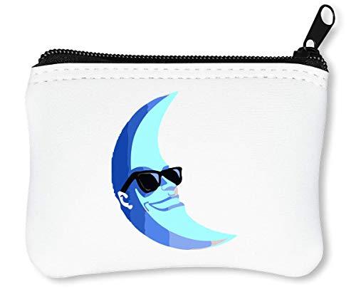 Cool Moon Man rits portemonnee portemonnee portemonnee