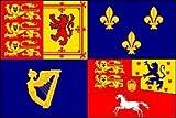 House of Hannover 1741 zu 1801 United Kingdom UK Royal Standard Banner Fahne, 150 x 90 cm