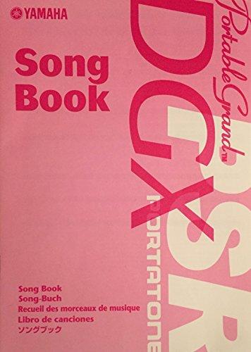 Yamaha Song Book Portable Grand DGX