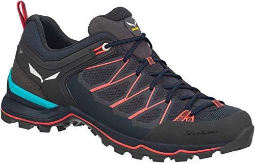 Salewa Damen WS Mountain Trainer Lite Trekking-& Wanderstiefel, Blau (Premium Navy/Fluo Coral 3993), 38 EU