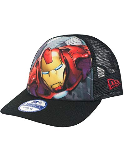 New Era 9Forty Iron Man Super Truck A Frame Kid's Trucker Cap