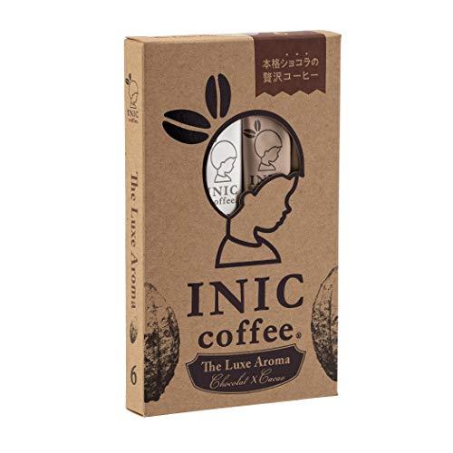 INIC coffee The Luxe Aroma 6cups 【カカオが香る チョコレートコーヒー】【贅沢なカフェモカ】【パウダーコーヒーの最高峰】
