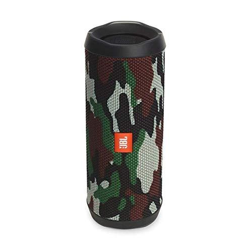 JBL Flip 4 Bluetooth Box in Camouflage, Wasserdichter, tragbarer Lautsprecher mit Freisprechfunktion & Alexa-Integration, Bis zu 12 Stunden Wireless Streaming mit nur einer Akku-Ladung (Standard)
