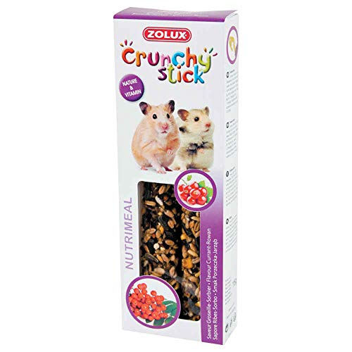 Zolux Crunchy Stick snack per criceto groseille/sorbiere, 115 g