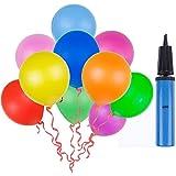 Lictin 100 Luftballon und 1 Ballonpumpe