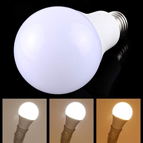Lichte Bulbs E27 15W 800-1125LM Intelligent LED lamp energiebesparing licht met drie kleurtemperatuur, AC 160-250V LED-lampen
