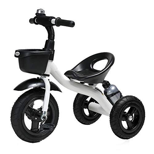 NBgycheche Triciclo Trike Trikes- niños con Asiento Ajustable Manillar, Kids' triciclos for Las Edades 2-6, 3 Rueda de Bicicleta for niños pequeños for niños/niñas, de Carga de 50 kg (Color: Rojo)