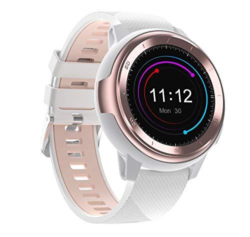 2ROLLROLL hartslag- en bloeddrukmeter horloge, T8 slimme armband kleur aanraakscherm, stap hartslag bloeddruk bloed zuurstof 24 uur bewaking, Android & Ios, pak hardlopen Fitness
