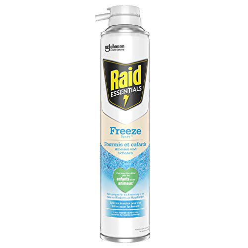 Raid Essentials Freeze Spray, insektizid-freies Aerosol gegen kriechende Insekten, 1er Pack (1 x 350ml)