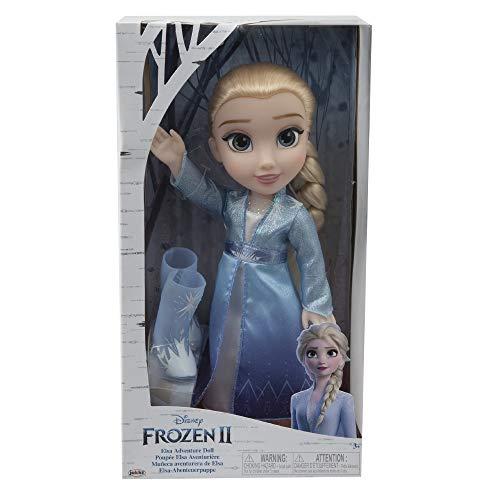 Giochi Preziosi Disney Frozen 2, Elsa con Vestito...