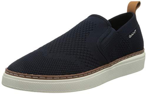 GANT San Prep Sneaker, Scarpe da Ginnastica Uomo, Blu Marino, 44 EU
