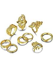 Goldchic Jewelry 7-28 Pezzi 1mm Anello Midi Da Donna Impilabile, Set Di Anelli a Fascia Normale In Acciaio Inossidabile, Misura Comfort 4-10, Tono Argento / Rosa / Oro / Nero