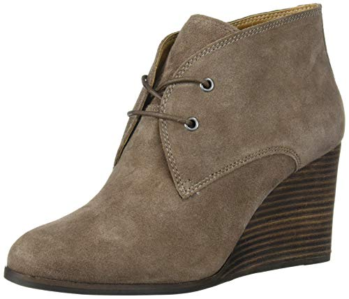 Lucky Brand Women's SHIIJO Ankle Boot, Top Taupe, 8
