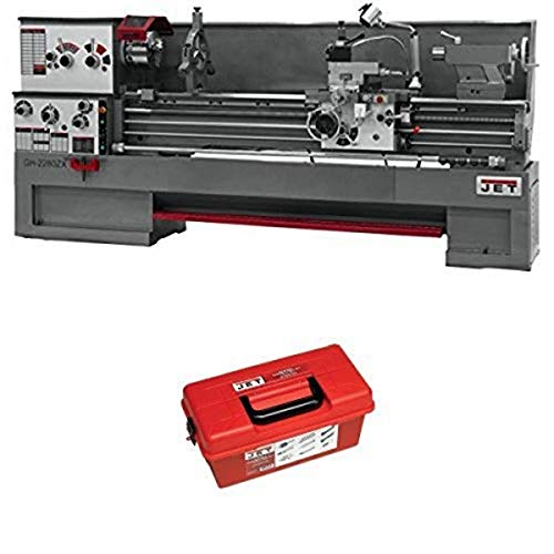 Find Discount JET GH-1880ZX Large Spindle Bore Precision Lathe with 23 Piece Turning Tool Kit For ZX...