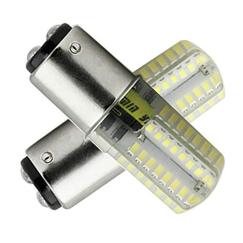 B15D LED-Lampe Glühlampe 4W LED Leuchtmittel, Nicht-Dimmbar, 350Lumen, 12V AC, 360 Grad Winkel, CRI> 85Ra, Ersatz für 45W B15D Halogenlampen Kaltweißem 6000K(2er Pack)