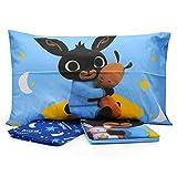 Personajes - Juego de sábanas para cama individual de una plaza, de algodón, sábana bajera y funda de almohada