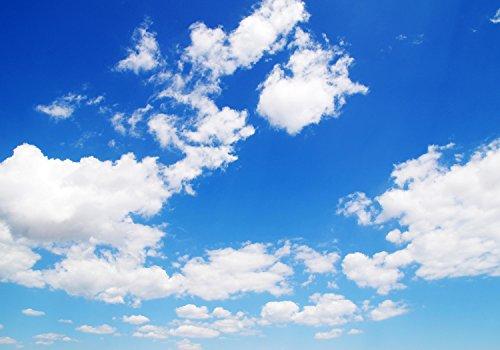 wandmotiv24 Fototapete Himmel mit Wolken, XXL 400 x 280 cm - 8 Teile, Fototapeten, Wandbild, Motivtapeten, Vlies-Tapeten, Natur M0271