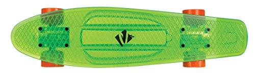 Juicy Susi Erwachsene Skateboard, Grün, 22.5 X 6 zoll