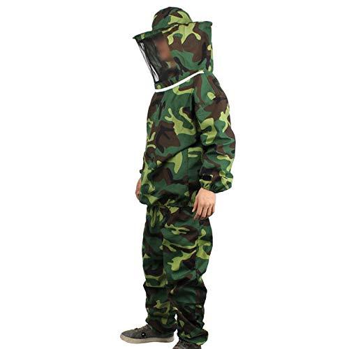SHENGHUAJIE bijenteelt beschermende pak broek sluier camouflage imker gezicht bescherming