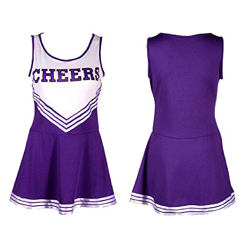 LILIZHAN Nieuwe Sexy High School Cheerleader Kostuum Cheer Meisjes Uniform Party Outfit Pompoms Zomerjurk