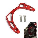 Cosmoska CNC Aluminum Case Chain Saver Guard Engine Cases Protection For Yamaha Raptor 700 GYTR 2007 Raptor 700R YFM700 2006-2019 Red Black Blue 1 Set ATV Parts Frame Slider Protection