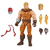 Hasbro Marvel Legends Series 6-inch Scale Action Figure Toy Sabretooth, Premium Design, 1 Figure, 3 Accessories, and 1 Build-A-Figure Part