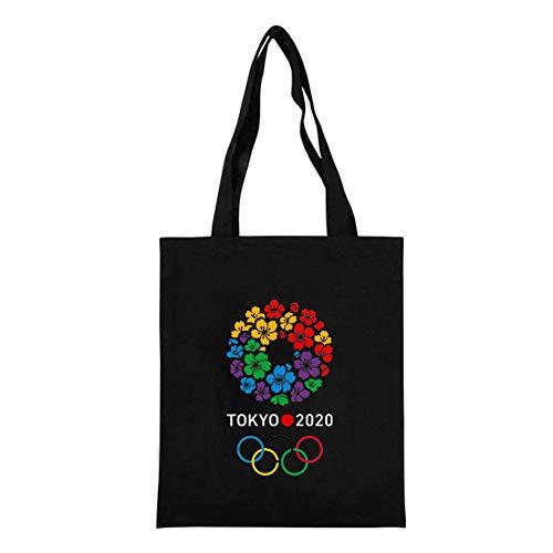 OJKM Vrouwen Pakket Elegante Canvas Bag Handtassen Japanse Zeeman Maan Cartoon Print Schoudertassen Casual Winkelen Tote Meisjes Handtas