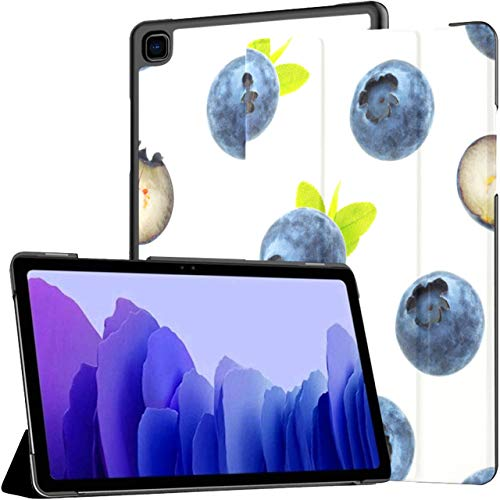 Health Protective Blueberries Samsung Galaxy Tablet Case Galaxy Tab A7 10.4 Inch Tablet Case Galaxy Tab A Cases With Auto Wake/sleep Fit Cases For Tablets For Galaxy Tab A7 Sm-t500/t505/t507