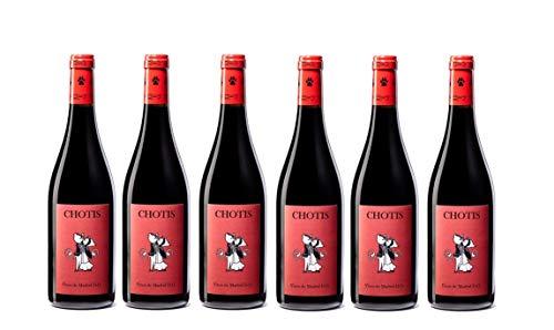 Chotis Vino Tinto Roble - 6 Botellas - 4500 ml