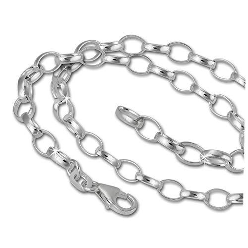 SilberDream Halskette 925 Sterling Silber Charm Kette 42cm für Charms Anhänger FC0120