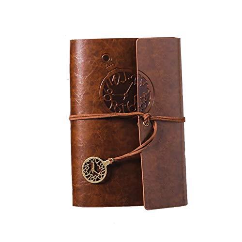 Retro Kraft papier notitieblok kleine hand creatieve tijdschrift boek reizen kunst blanco boekje a6 los blad notitieboek briefpapier college studenten kunnen giften sturen
