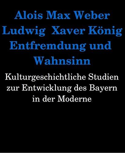 Entfremdung und Wahnsinn. Kulturgeschichtliche Studien zur Entwicklung des Bayern in der Moderne