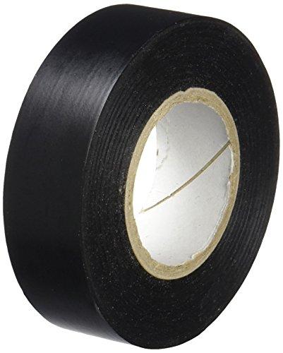 Unecol 8437 Cinta aislante (PVC, rollo), Negro, 20 m x 19 mm