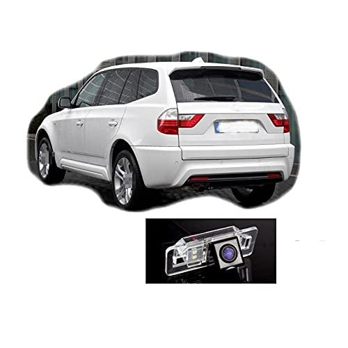 QWERQF Amigos de la cámara Trasera de visión Trasera para UsarCCD con RCA,para BMW X3 E83 2003~2010