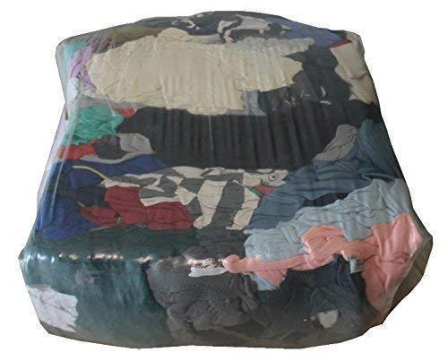 10 kg Putzlappen Putztücher Reinigungstücher bunt reines Trikot geschnitten Werkstatt Tücher