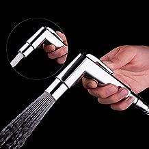 ALTON SHR20825 Dual Flow Health Faucet with SS-304 Grade 1.25 Meter Flexible Hose Pipe & Wall Hook (Chrome)