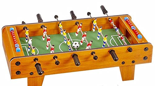 Futbolín de Mesa Juego Mesa de Fútbol Madera 52cm...