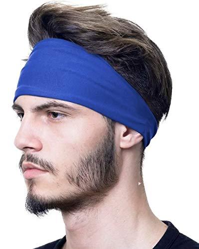 Bandana Headband Proteção UV 50+ Aventura Esportes Faixa Touca Unissex – Azul Royal