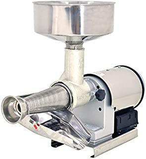 Omcan 41420 Commercial Restaurant Electric 1.25 HP Tomato Squeezer w/ SS cover