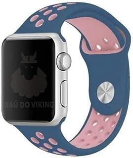 Pulseira Silicone Furos, compatível com Apple Watch