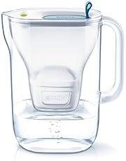 ブリタ 浄水器 ポット 浄水部容量:1.4L(全容量:2.4L)  スタイル ブルー マクストラプラス カートリッジ 1個付き 【日本仕様・日本正規品】