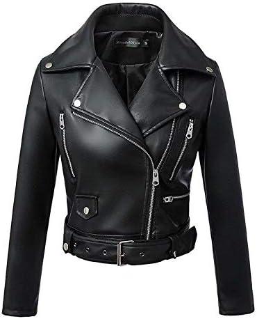 Nomber Autumn Winter Fashion Women Zi Safety and trust Jackets Black Under blast sales Leather Faux