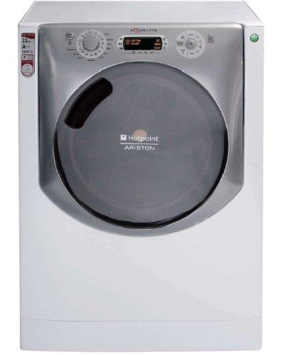 Hotpoint Aqualtis AQ113D 69 EU/A Freistehende Waschmaschine, Frontladung, 11kg, 1600 U/min., A+++ (freistehend, Frontbeladung, Türbeschlag rechts, LCD)