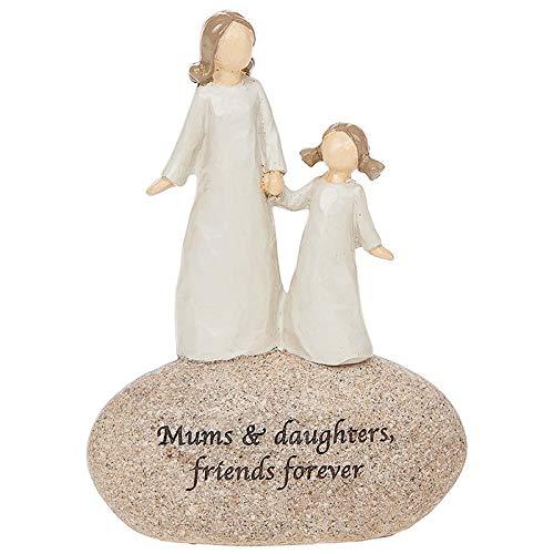Angels Mamans et Filles Friends Forever Sentimental Pebble Cadeau