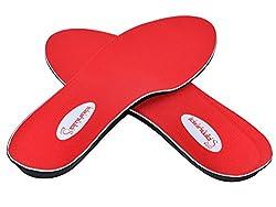 Samurai Insoles Instant-Relief Orthotics for Flat Feet