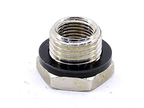electromyne Hydraulik Adapter Verbinder-Stück Verbindungselement Ø=12mm G3/8 Schraubstutzen