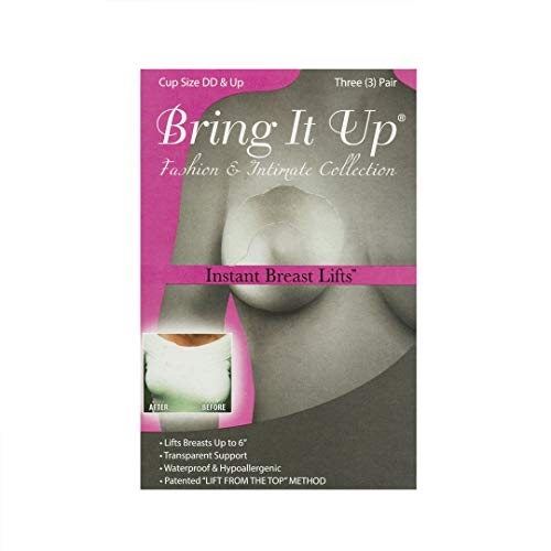 Bring It Up Instant Breast Lift - Plus Size - 3 Pairs