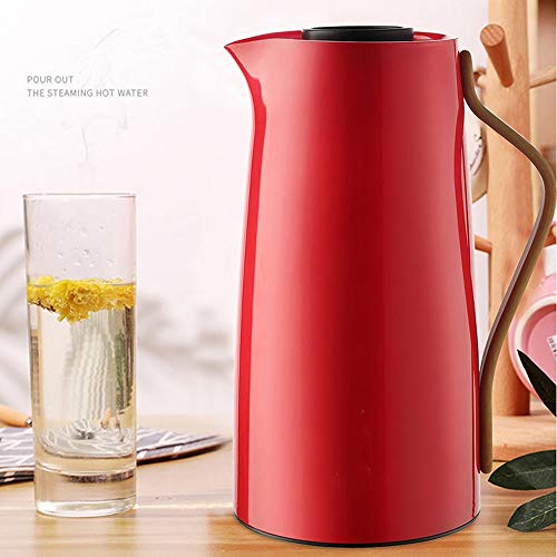 BNSDMM Thermoskannen Thermoskanne - 1L-Haushaltsglas-Thermoskanne, isolierter Wasserkocher, einfacher und stilvoller Wasserkocher für Restaurants, kleine Thermoskanne, geeignet für Restaurants, Wohnun